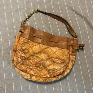 Alviero Martini Geo Map Shoulder Bag